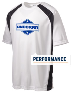 Andorra Men's Dry Zone Colorblock T-Shirt