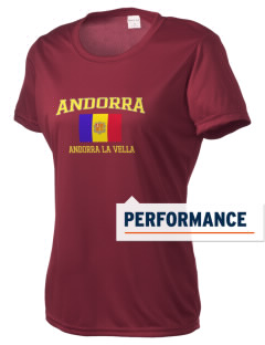 Andorra Women's Competitor Performance T-Shirt