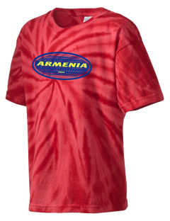 Armenia Kid's Tie-Dye T-Shirt