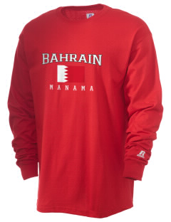 Bahrain  Russell Men's Long Sleeve T-Shirt