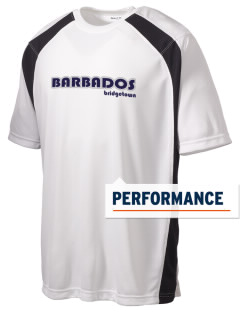 Barbados Men's Dry Zone Colorblock T-Shirt