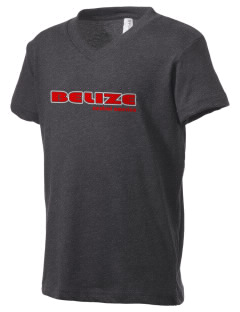 Belize Kid's V-Neck Jersey T-Shirt