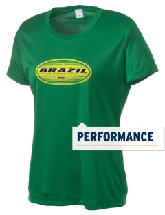 Brazil Women's Competitor Performance T-Shirt