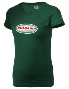Bulgaria  Russell Women's Campus T-Shirt