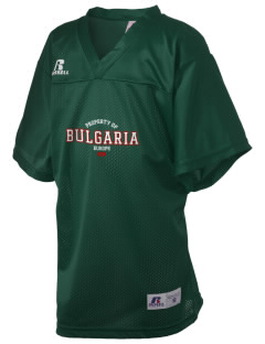 Bulgaria Russell Kid's Replica Football Jersey