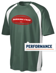 Burkina Faso Men's Dry Zone Colorblock T-Shirt