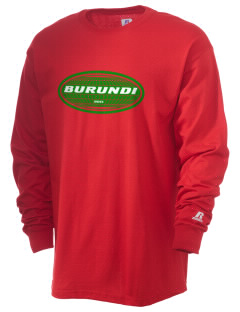 Burundi  Russell Men's Long Sleeve T-Shirt