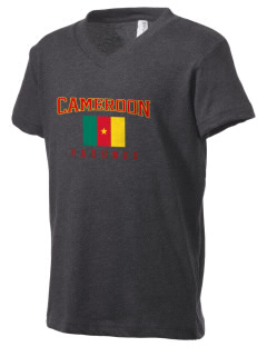 Cameroon Kid's V-Neck Jersey T-Shirt
