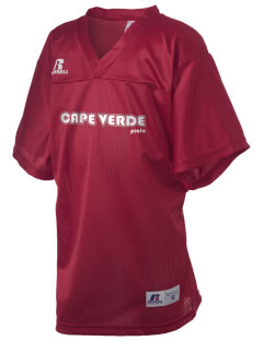 Cape Verde Russell Kid's Replica Football Jersey