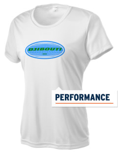 Djibouti Women's Competitor Performance T-Shirt
