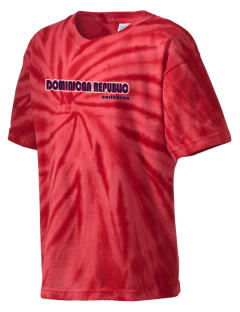 Dominican Republic Kid's Tie-Dye T-Shirt