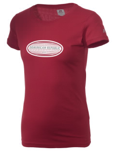 Dominican Republic  Russell Women's Campus T-Shirt