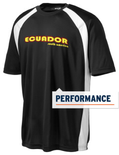 Ecuador Men's Dry Zone Colorblock T-Shirt