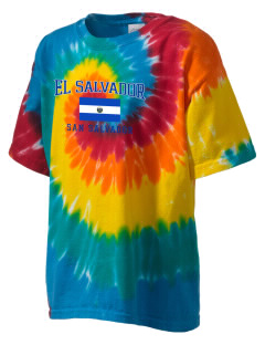 El Salvador Kid's Tie-Dye T-Shirt