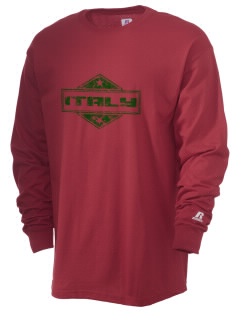 Italy  Russell Men's Long Sleeve T-Shirt