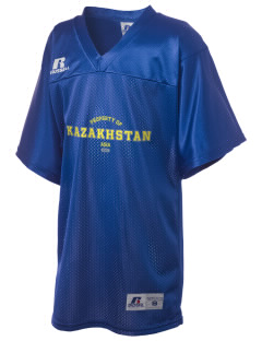 Kazakhstan Russell Kid's Replica Football Jersey