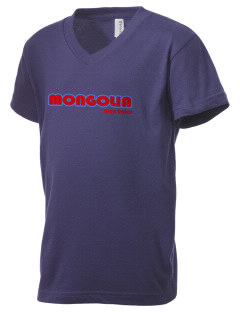 Mongolia Kid's V-Neck Jersey T-Shirt