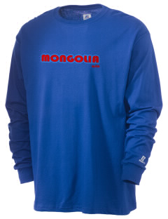 Mongolia  Russell Men's Long Sleeve T-Shirt