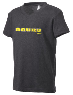 Nauru Kid's V-Neck Jersey T-Shirt