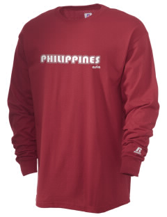 Philippines  Russell Men's Long Sleeve T-Shirt