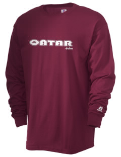 Qatar  Russell Men's Long Sleeve T-Shirt
