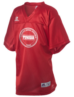 Tunisia Russell Kid's Replica Football Jersey