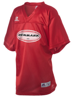 Denmark Russell Kid's Replica Football Jersey