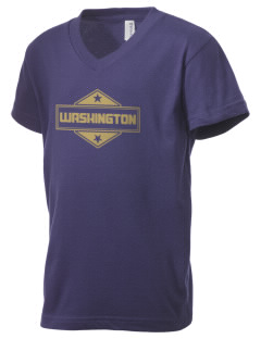 Washington Kid's V-Neck Jersey T-Shirt