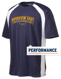 Riverview East Academy Hawks Men's Dry Zone Colorblock T-Shirt