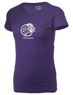 College of the Holy Cross Crusaders  Russell Women's Campus T-Shirt