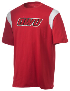 Ohio Wesleyan University Battling Bishops Holloway Men's Rush T-Shirt