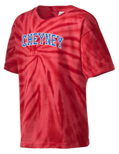 Cheyney University Wolves Kid's Tie-Dye T-Shirt