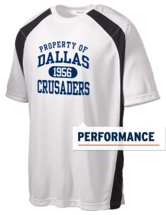 University of Dallas Crusaders Men's Dry Zone Colorblock T-Shirt