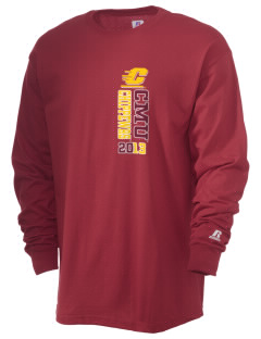 Central Michigan University Chippewas  Russell Men's Long Sleeve T-Shirt
