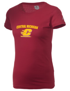 Central Michigan University Chippewas  Russell Women's Campus T-Shirt