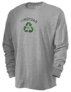 Timucuan Ecological & Historic Preserve  Russell Men's Long Sleeve T-Shirt