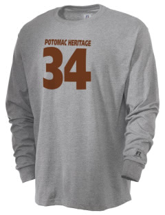Potomac Heritage National Scenic Trail  Russell Men's Long Sleeve T-Shirt