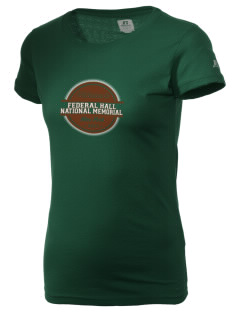 Federal Hall National Memorial  Russell Women's Campus T-Shirt