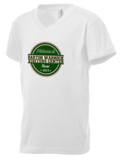 Barton Warnock Visitors Center Kid's V-Neck Jersey T-Shirt