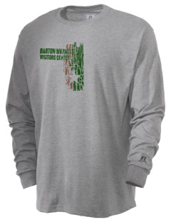Barton Warnock Visitors Center  Russell Men's Long Sleeve T-Shirt