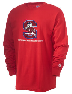 South Carolina State University Bulldogs  Russell Men's Long Sleeve T-Shirt