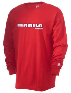 Manila  Russell Men's Long Sleeve T-Shirt