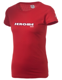 Jerome  Russell Women's Campus T-Shirt