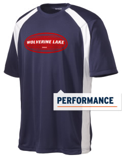 Wolverine Lake Men's Dry Zone Colorblock T-Shirt