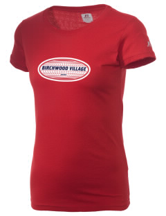 Birchwood Village  Russell Women's Campus T-Shirt