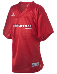 Sandstone Russell Kid's Replica Football Jersey