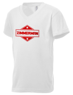 Zimmerman Kid's V-Neck Jersey T-Shirt