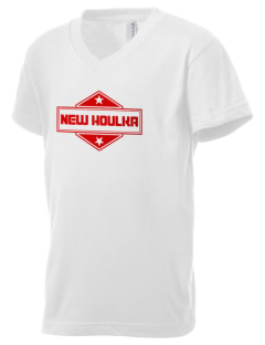 New Houlka Kid's V-Neck Jersey T-Shirt