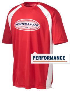 Whiteman AFB Men's Dry Zone Colorblock T-Shirt