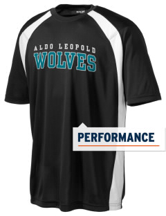 Aldo Leopold High School Wolves Men's Dry Zone Colorblock T-Shirt
